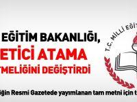 MEB Yönetici Atama Yönetmeliği 2015 - Tam Metni