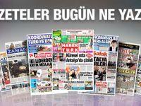 17 Kasım 2015 gazete manşetleri