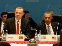 Erdoğan konuşurken Obama sakız çiğnedi