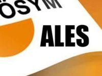 ALES giriş belgeleri yayımlandı