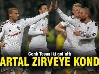 Beşiktaş liderliğe yükseldi: 2-0