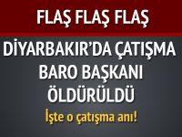 Diyarbakır'da çatışma - Tahir Elçi öldürüldü