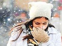 Hava 6 derece soğuyacak, kar geliyor / Haritalı