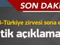 Başbakan Davutoğlu: Tarihi bir gün...