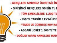 AK Parti'nin seçim vaatleri 3 ay gecikebilir