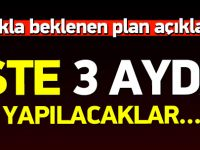 Başbakan Davutoğlu 2016 Eylem Planı'nı açıkladı