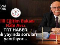 Nabi Avcı TRT HABER canlı yayında soruları yanıtlıyor