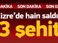 Cizre'de terör tuzağı: 3 şehit