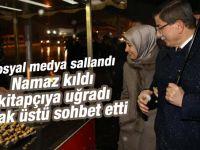 Geceye damga vuran Davutoğlu fotoğrafı