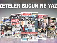 22 Ocak 2016 Gazete Manşetleri