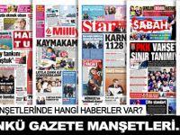 23 Ocak 2016 Gazete Manşetleri