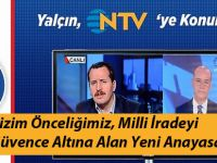Ali Yalçın, Savundukları Yeni Anayasayı Anlattı