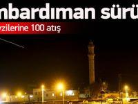 TSK'dan Suriye Bombardımanına Devam