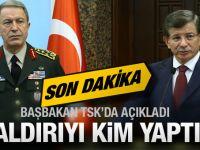 Ankara patlaması YPG işi çıktı Davutoğlu'ndan flaş açıklama