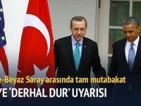 Erdoğan Barack Obama ile görüştü