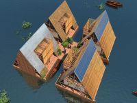 Yüzen okullar inşa ediliyor