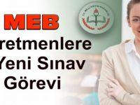 MEB'den Öğretmenlere 5 Yeni Sınav Görevi - TIKLA-BAŞVUR