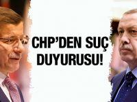 Erdoğan ve Davutoğlu'na olay suç duyurusu