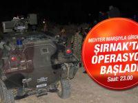 Şırnak'ta mehter marşlı operasyon!