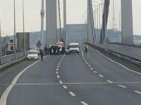 Boğaziçi Köprüsü'nde bombalı araç şüphesi - Köprüde son durum