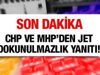 Dokunulmazlık çağrısına CHP'den ve MHP'den jet yanıt