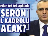 Maliye Bakanı Naci Ağbal taşeron işçilerin kadroya alınma şartlarını açıkladı