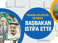 Panama belgeleri depremi! Başbakan istifa etti!