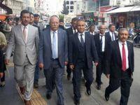 Genel Başkan Koncuk Kilis Sokaklarında