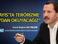 Ali Yalçın, 1 Mayıs Programının Detaylarını Anlattı