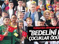 300 çocuk Külliye'de ağırlandı