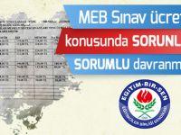 Eğitim-Bir-Sen'den MEB'e Sınav Ücretleri Tepkisi