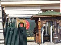 Cumhurbaşkanlığı Sarayı'na zırhlı kapı