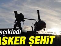 Şırnak'ta yaralanan iki asker şehit oldu
