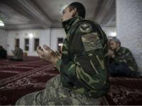 Yüksekova'daki güvenlik güçlerinden Miraç duası