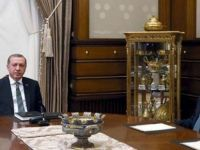 Erdoğan - Davutoğlu zirvesi sona erdi