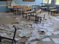 Teröristler Nusaybin'de anaokulunu yaktılar