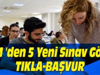 ÖSYM 'den 5 Yeni Sınav Görevi! TIKLA-BAŞVUR