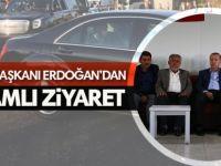 Cumhurbaşkanı Erdoğan Dürümlü'de katledilenlerin yakınlarını ziyaret etti