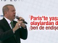 """Erdoğan; """"endişeliyim, kaygılıyım"""""""