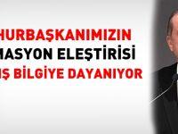 Cumhurbaşkanı Erdoğan'a yanlış bilgi mi verildi?