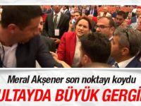 MHP kurultayında Akşener sloganı gerginliği!