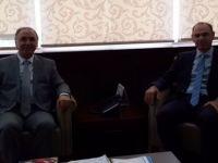 Ahmet Özer'den Vefa Bardakçı'ya Ziyaret