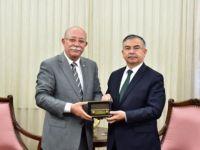 Koncuk Milli Eğitim Bakanını Ziyaret Etti