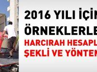 Harcırah nasıl hesaplanır-2016