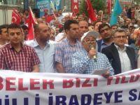 Ankara Milli İrade Platformundan Darbe Karşıtı Eylem