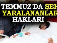 Kalkışma sırasında şehit ve yaralıların hakları