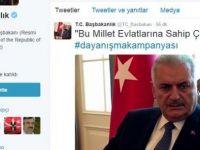 Başbakan Yıldırım'dan vatandaşlara 'bağış' çağrısı
