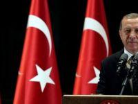Erdoğan'ın sözleri salonu ayağa kaldırdı