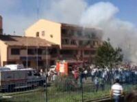 Elazığ'da patlama: 3 Şehit ! 100'den Fazla Yaralı