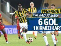 Kadıköy'de 1 kırmızı kart, 6 gol